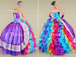 craziest quinceanera dresses