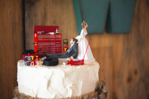 Fun Cake Topper Wedding California